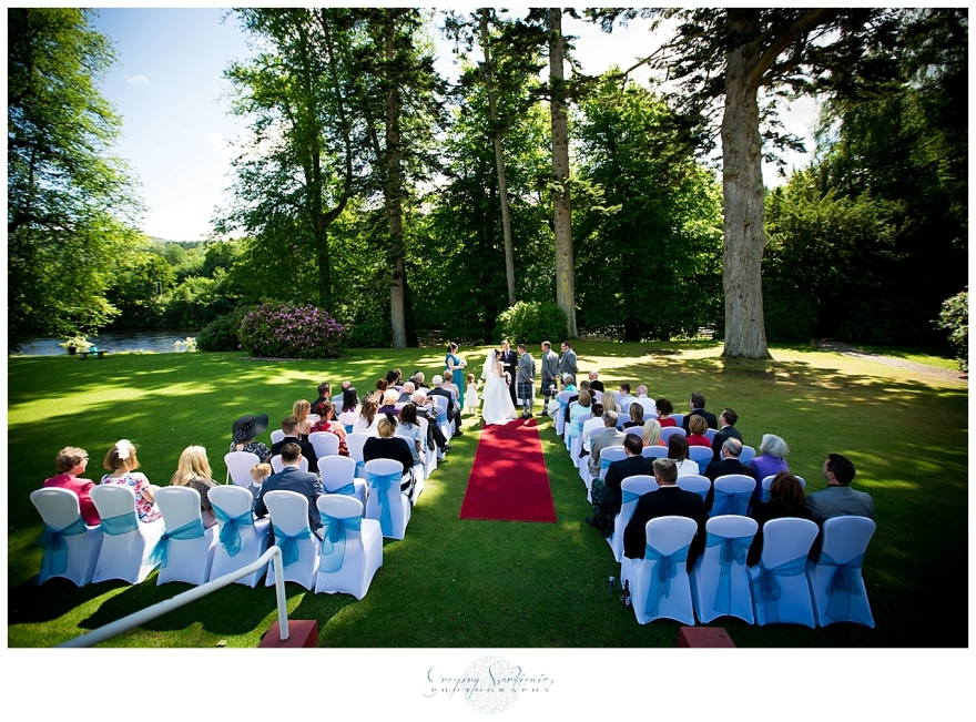 Szarkiewicz Wedding Photography Edinburgh - Hilton Dunkeld House_0024