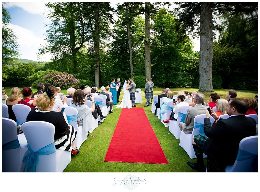 Szarkiewicz Wedding Photography Edinburgh - Hilton Dunkeld House_0034