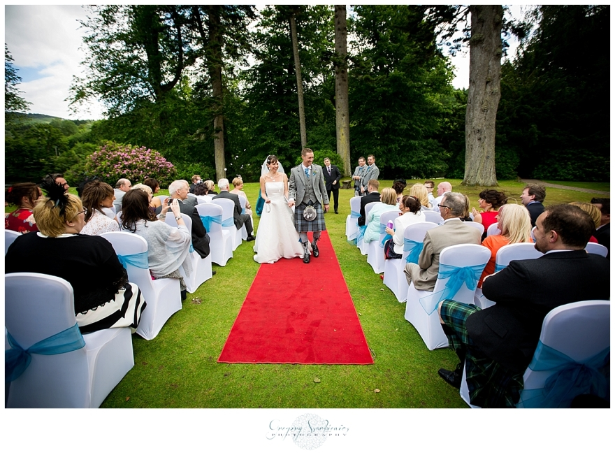 Szarkiewicz Wedding Photography Edinburgh - Hilton Dunkeld House_0036